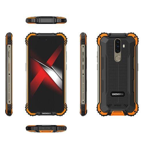 EU ECO Raktár - Doogee S58 Pro 4G Okostelefon Globális verzió 5.71 inch IP68 / IP69K Waterproof NFC 5180mAh Android 10 16MP AI Triple előlapi Camera 6GB 64GB Helio P22 - Sárga