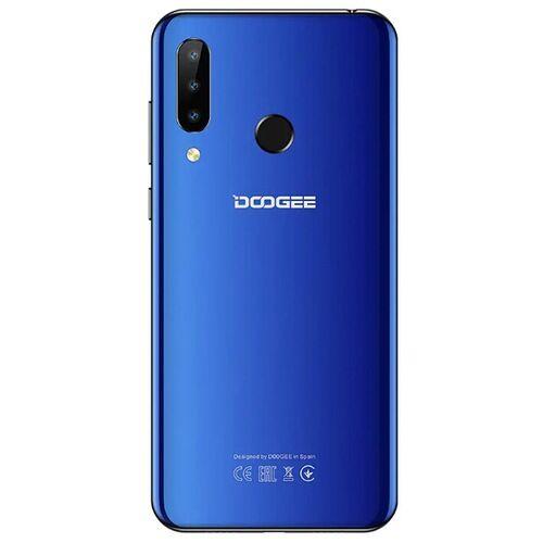 EU ECO Raktár - Doogee N20 6.3 inch FHD+ Android 9.0 4350mAh Triple előlapi Cameras 16MP Front Camera 4GB 64GB Helio P23 4G Okostelefon Globális verzió - Fekete