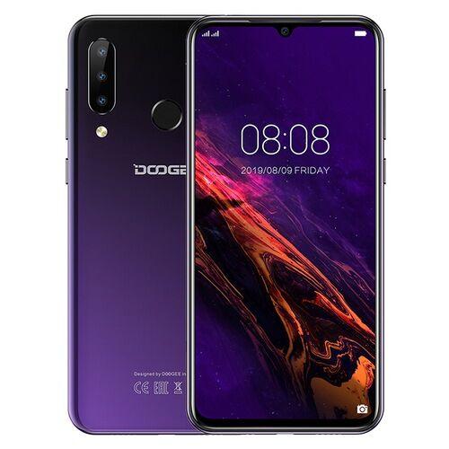 EU ECO Raktár - Doogee N20 6.3 inch FHD+ Android 9.0 4350mAh Triple előlapi Cameras 16MP Front Camera 4GB 64GB Helio P23 4G Okostelefon Globális verzió - Kék