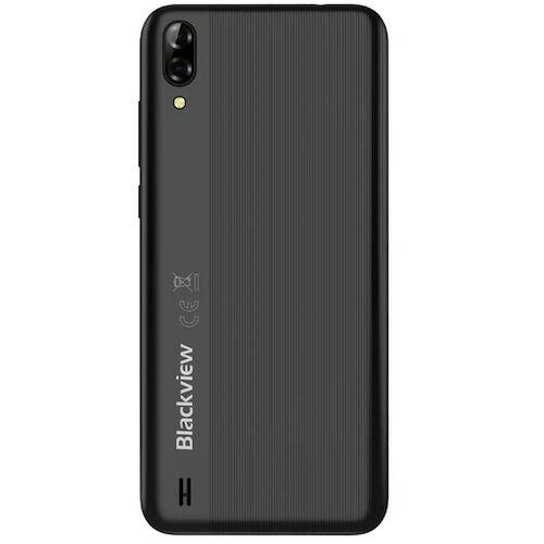 EU ECO Raktár - Blackview A60 Globális verzió 6.1 inch 19:9 Waterdrop Screen 4080mAh Android 8.1 1GB RAM 16GB ROM MT6580A Quad Core 3G Okostelefon - Fekete