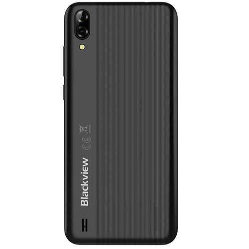 EU ECO Raktár - Blackview A60 Global Version 6.1 inch 19:9 Waterdrop Screen 4080mAh Android 8.1 1GB RAM 16GB ROM MT6580A Quad Core 3G Okostelefon - Fekete