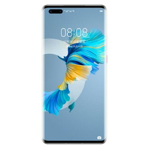 EU ECO Raktár -  Huawei Mate 40 Pro 5G Okostelefon 6.76 inch EMUI 11.0 Kirin 9000 Octa-core 50.0MP + 20.0MP + 12.0MP előlapi Camera 4400mAh  - Ezüst 8GB RAM+128GB ROM