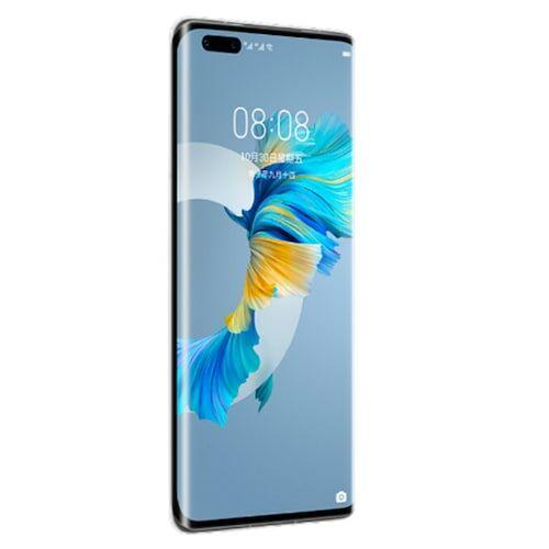 EU ECO Raktár - Huawei Mate 40 Pro 5G Okostelefon 6.76 inch EMUI 11.0 Kirin 9000 Octa-core 50.0MP + 20.0MP + 12.0MP előlapi Camera 4400mAh - Ezüst 8GB RAM+256GB ROM