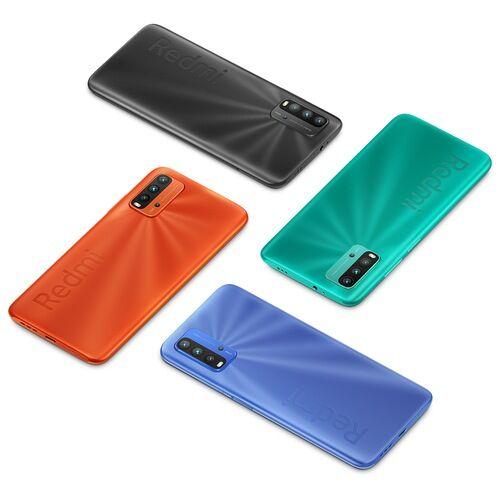 EU ECO Raktár - Xiaomi Redmi 9T 4G Okostelefon 6.53 inch Snapdragon 662 Octa-core előlapi Caremas 48MP + 8MP + 2MP + 2MP Battery 6000mAh 4GB RAM 64GB ROM - Szürke