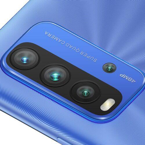 EU ECO Raktár - Xiaomi Redmi 9T 4G Okostelefon 6.53 inch Snapdragon 662 Octa-core előlapi Caremas 48MP + 8MP + 2MP + 2MP Battery 6000mAh 6GB RAM 128GB ROM - Kék