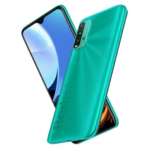 EU ECO Raktár - Xiaomi Redmi 9T 4G Okostelefon 6.53 inch Snapdragon 662 Octa-core előlapi Caremas 48MP + 8MP + 2MP + 2MP Battery 6000mAh 4GB RAM 64GB ROM - Zöld