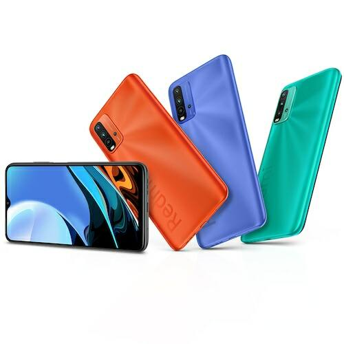 EU ECO Raktár - Xiaomi Redmi 9T 4G Okostelefon 6.53 inch Snapdragon 662 Octa-core előlapi Caremas 48MP + 8MP + 2MP + 2MP Battery 6000mAh 6GB RAM 128GB ROM - Zöld