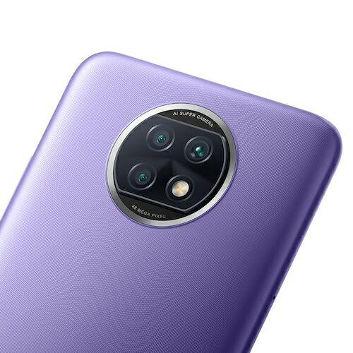 EU ECO Raktár - Xiaomi Redmi Note 9T 5G Okostelefon 6.53 inch Media Tek Dimensity 800U Octa Core előlapi Cameras 48MP + 2MP + 2MP Battery 5000mAh - Lila 4GB RAM 64GB ROM