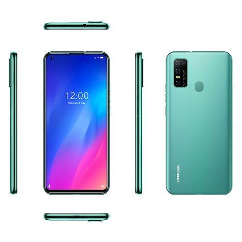 EU ECO Raktár - Doogee N30 6.55 inch Android 10.0 4180mAh 16MP AI 4G Okostelefon Quad előlapi Camera 4GB RAM 128GB ROM Helio A25 4G Okostelefon - Zöld