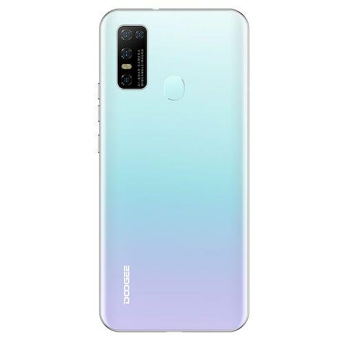 EU ECO Raktár - Doogee N30 6.55 inch  Android 10.0 4180mAh 16MP AI 4G Okostelefon Quad előlapi Camera 4GB RAM 128GB ROM Helio A25 4G Okostelefon - Fehér