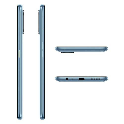 EU ECO Raktár - Realme 7 Pro 4G Okostelefon 6.4 Inch FHD Super AMOLED Kijelző 8GB RAM 128GB ROM Snapdragon 720G Android 10 64MP Quad előlapi Camera 65W SuperDart Charging - Ezüst
