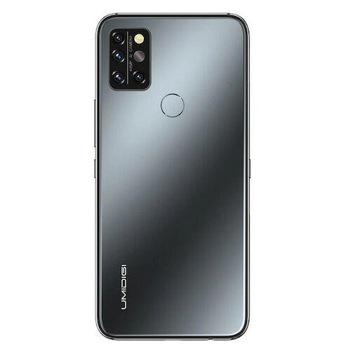 EU ECO Raktár - UMIDIGI A9 Pro 4G Okostelefon 6.3 Inch FHD+ Infrared Hőmérővel Helio P60 Android 10 4150mAh 48MP AI Matrix Quad Camera - Fekete 4GB RAM + 64GB ROM