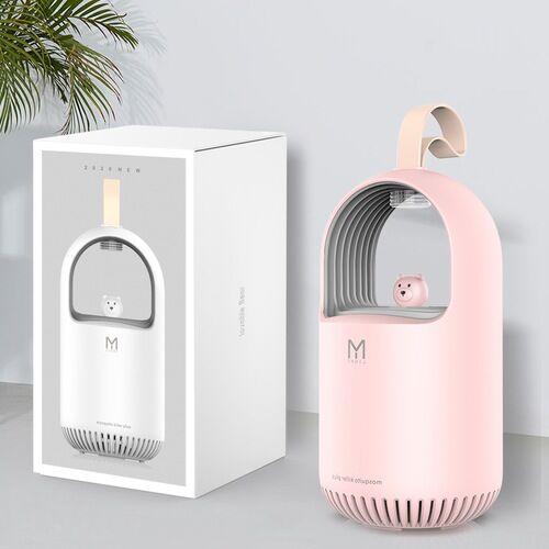 Household Rovarriasztó Szunyogírtó Rovarölő Lámpa - Rózsaszín