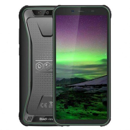 EU ECO Raktár - Blackview BV5500 3G Dual SIM Android 8.1 IP68 Okostelefon - Zöld