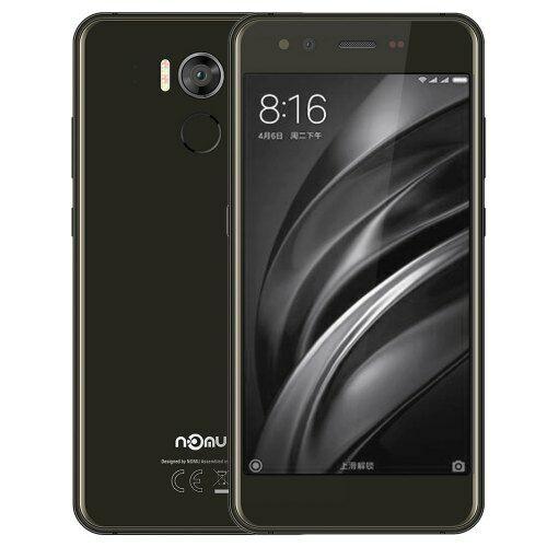 EU ECO Raktár - NOMU M8 4G Okostelefon 5.2 inch Octa Core 1.5GHz 4GB RAM 64GB ROM 21.0MP előlapi Camera - Szürke