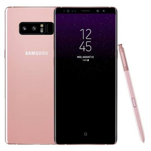 EU ECO Raktár - Samsung Galaxy Note8 6GB RAM + 64GB ROM 6.3 inches Android 7.1.1 Octa-core 4x2.3 GHz 3300mAh Battery 4G Okostelefon - Rózsaszín
