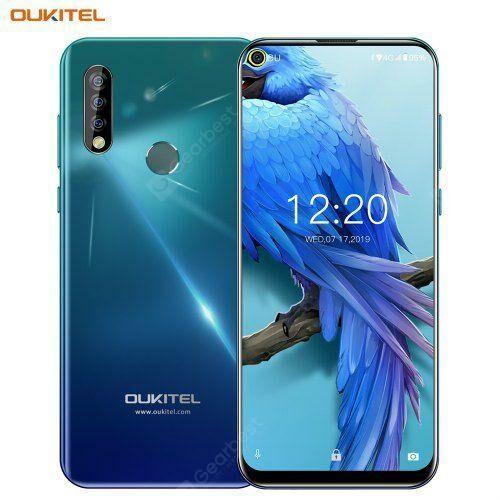EU ECO Raktár - OUKITEL C17 Pro 4G Okostelefon 4GB RAM 64GB ROM - Twilight