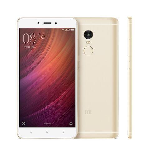 EU ECO Raktár - Xiaomi Redmi Note 4 Dual SIM 5.5 inches Android 6.0 Octa-core 2.0 GHz 4100mAh Battery 4G Okostelefon 3GB RAM 32GB ROM - Arany