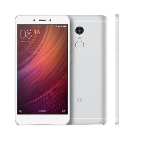 Xiaomi Redmi Note 4 3GB RAM 64GB ROM Dual SIM 5.5 inches Android 6.0 Octa-core 2.0 GHz 4100mAh Okostelefon - Ezüst