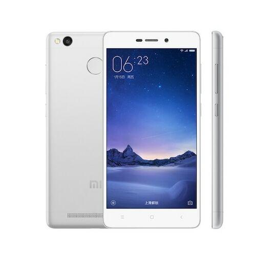 EU ECO Raktár - Xiaomi Redmi 3s 2GB RAM 16GB ROM Dual SIM 5.0 inches Android 6.0.1 Octa-core 1.4 GHz 4100mAh Battery Okostelefon - Ezüst