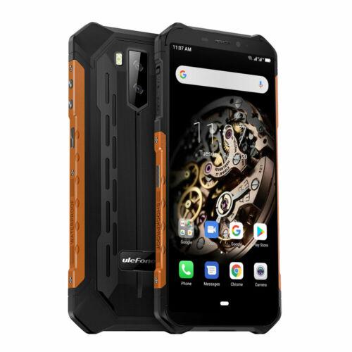Ulefone Armor X5 5.5 Inch NFC IP68 IP69K Vízálló 3GB RAM 32GB ROM 5000mAh MT6762 Octa core 4G Okostelefon - Narancs
