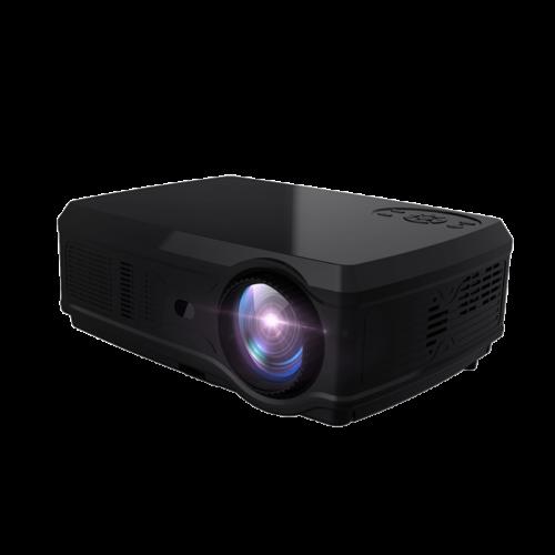 EU ECO Raktár - POWERFUL Full HD Projector SV-358 1920*1080P LED Android 7.1 2GB + 16GB Wifi Bluetooth Házimozi Projektor - Fekete