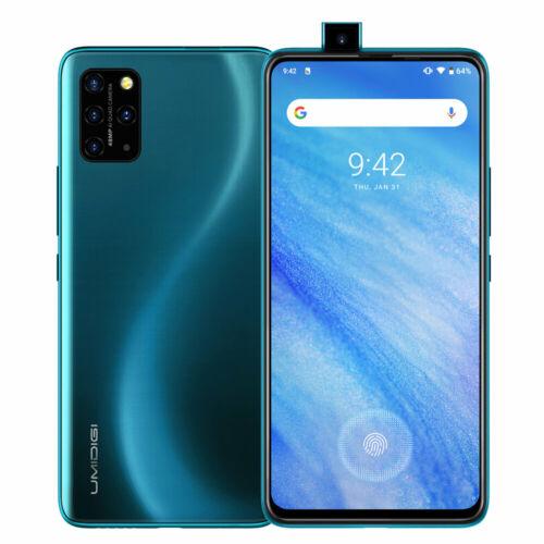 EU ECO Raktár - UMIDIGI S5 Pro  6.39 inch FHD+ NFC Android 10 4680mAh 48MP Super Matrix Quad Camera 6GB RAM 256GB ROM Helio G90T 4G Okostelefon - Kék