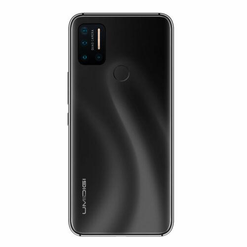 EU ECO Raktár - UMIDIGI A7 Pro 6.3 inch FHD+ Android 10 4150mAh 16MP AI Quad Camera 3 Card-slot 4GB RAM 64GB ROM Helio P23 4G Okostelefon - Fekete