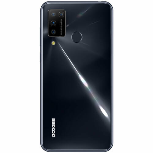 EU ECO Raktár - DOOGEE N20 Pro 6.3 inch FHD+ 6GB RAM 128GB ROM Helio P60 Android 10 4400mAh 16MP Octa Core 4G Okostelefon - Szürke