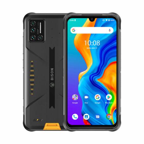 EU ECO Raktár - UMIDIGI BISON IP68 IP69K Vízálló NFC Android 10 5000mAh 6GB RAM 128GB ROM Helio P60 6.3 inch FHD+ 48MP Quad előlapi Camera 24MP Front Camera 4G Okostelefon - Narancs