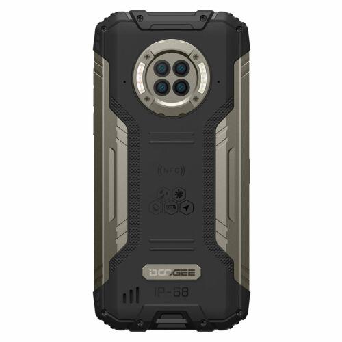 DOOGEE S96 Pro IP68 IPIP69K Vízálló 8GB RAM 128GB ROM Helio G90 NFC Android 10 6350mAh 6.22 inch 48MP Round Quad Camera 20MP Infrared Night Vision 4G Okostelefon - Zöld