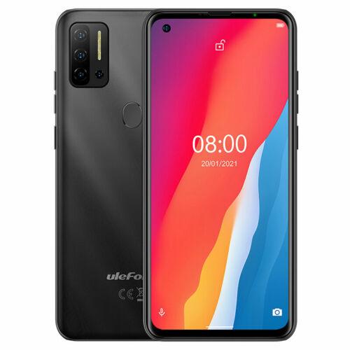 EU ECO Raktár - Ulefone Note 11P 6.55 inch 8GB RAM 128GB ROM 48MP Quad Camera Android 11 4400mAh Helio P60 Octa Core 4G Okostelefon - Fekete