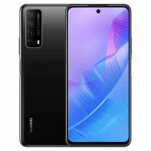 EU ECO Raktár - HUAWEI Enjoy 20 SE 6.67 inch 8GB RAM 128GB ROM 13MP Triple Camera 5000mAh Kirin 710A Octa Core 4G Okostelefon - Fekete