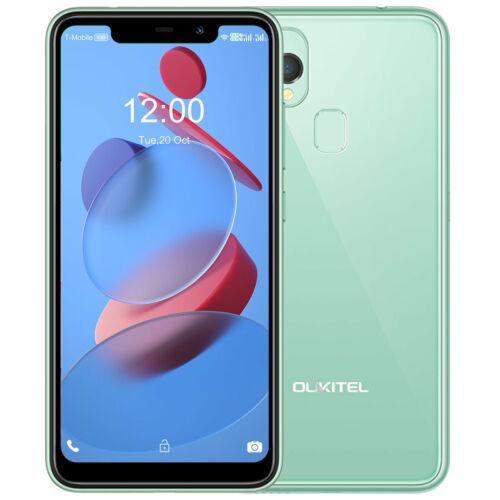 EU ECO Raktár - OUKITEL C22 5.86 inch HD+ U-notch Display Android 10 4GB RAM 128GB ROM MT6761V 4000mAh 13MP 4G Okostelefon - Zöld