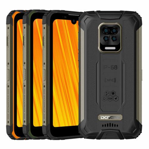 EU ECO Raktár - DOOGEE S59 IP68 Vízálló 5.71 inch HD+ 10050mAh Super Battery NFC Android 10.0 4GB 64GB Helio A25 Octa Core 4G Okostelefon - Fekete