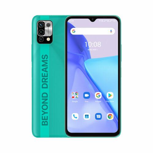 EU ECO Raktár - UMIDIGI Power 5 6.53 inch HD+ Android 11 6150mAh 16MP AI 3GB RAM 64GB ROM Helio G25 4G Okostelefon - Zöld