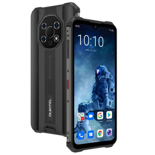 EU ECO Raktár - OUKITEL WP13 5G IP68 Vízálló NFC Dimensity 700 8GB RAM 128GB ROM 48MP Tripla előlapi Camera 6.52 inch 5280mAh Okostelefon - Fekete