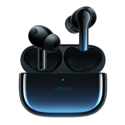 EU ECO Raktár - VIVO TWS 2 bluetooth V5.2 Vezetéknélküli Sport Fülhallgató Töltő Tokkal - Kék
