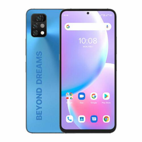 EU ECO Raktár - UMIDIGI A11 Pro Max Android 11 Helio G80 5150mAh 4GB 128GB 48MP AI Triple Camera 6.8 FHD+ 4G Okostelefon - Kék