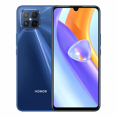 EU ECO Raktár - Honor Play 5 5G 8GB RAM 256GB ROM 6.53 Inch 64MP Quad Camera 66W Gyorstöltés NFC Dimensity 800U MT6853 Octa Core Okostelefon - Kék