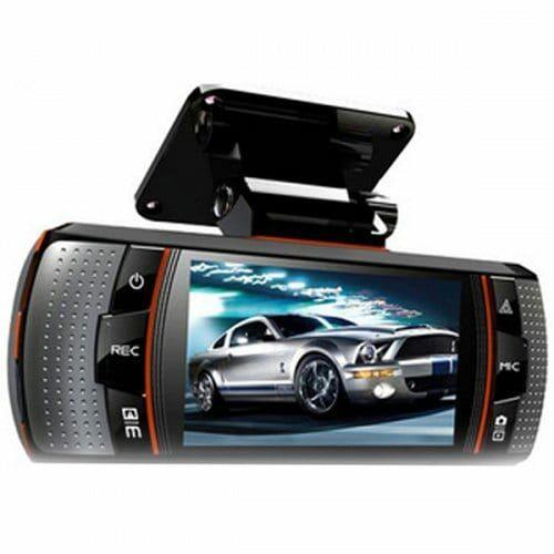EU ECO Raktár - Dupla Lencsés Autós 1080P Menetrögzítő DVR Kamera