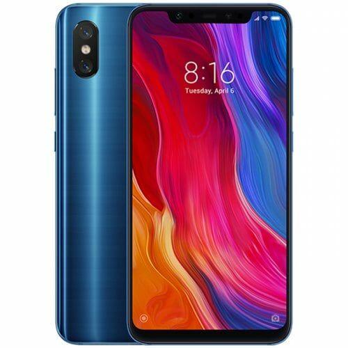 EU ECO Raktár - Xiaomi Mi 8 4G okostelefon Globális verzió - Kék