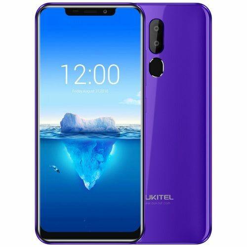 EU ECO Raktár - OUKITEL C12 Pro 4G okostelefon - Lila