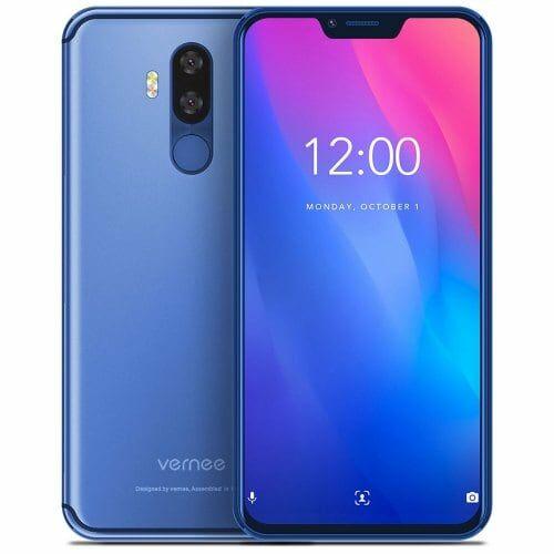 EU ECO Raktár - Vernee M8 Pro 4G okostelefon - Kék
