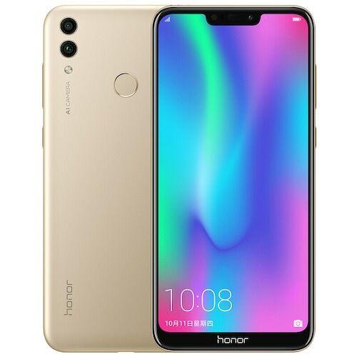 EU ECO Raktár - HUAWEI Honor Play 8C 4G 4GB RAM 64GB ROM 13.0MP + 2.0MP Rear Camera Fingerprint Sensor Okostelefon - Arany