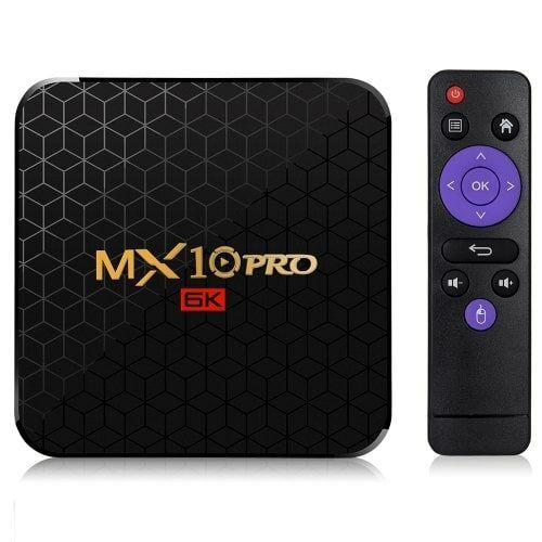 MX10 Pro 6K TV Box Android 9.0 - 4GB RAM + 32GB ROM