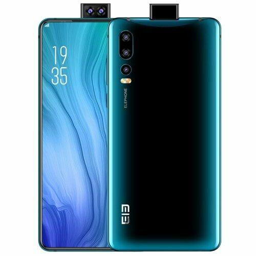 EU ECO Raktár - ELEPHONE U2 4G okostelefon 6.26 inch FHD Globális verzió - Kék
