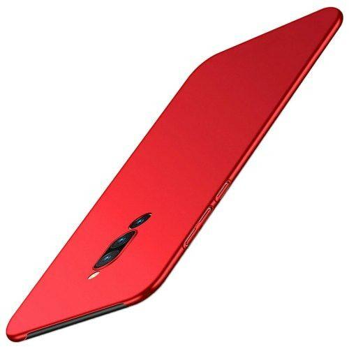 Ultravékony Szilikon Tok Vivo X27 Pro Készülékre - Piros