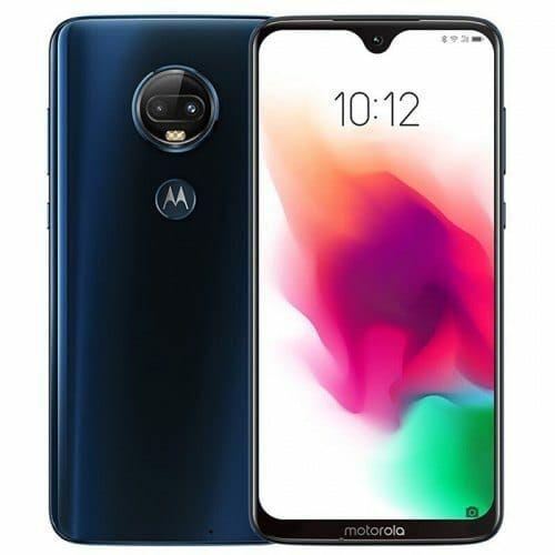 EU ECO Raktár - Motorola Moto G7 Plus 4G okostelefon - 6GB 128GB - Sötétkék