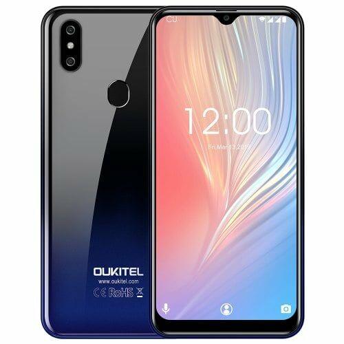 EU ECO Raktár - OUKITEL C15 Pro+ 4G okostelefon - 3GB 32GB - Kék